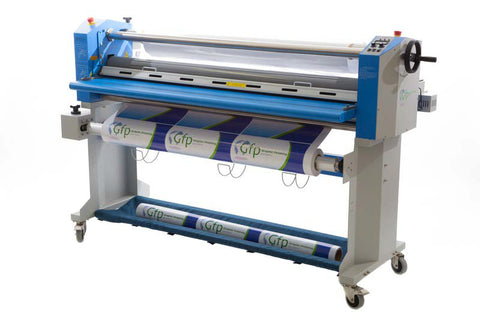 "GFP 563TH 63"" TOP HEAT PROFESSIONAL LAMINATOR W/ SWING SHAFTS"