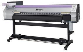 "USED MIMAKI JV33-160 64"" HEAVY DUTY 64"" ECO SOLVENT PRINTER"