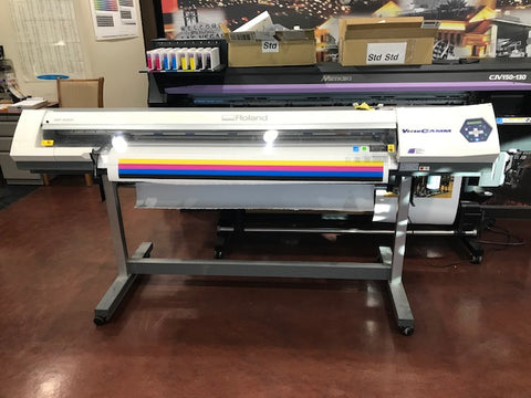 "USED ROLAND SP-540i ECO-SOLVENT 54"" PRINTER / CUTTER"