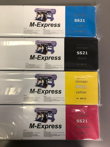 Mimaki JV33,JV-150,300 OEM COMPATIBLE 440ml LOW COST INK CARTRIDGE
