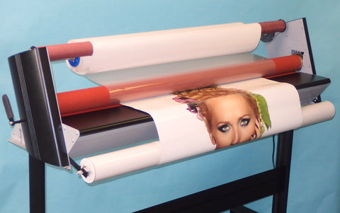 "Low Cost 38"" Cold Laminator"