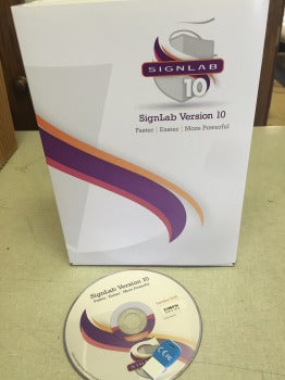 Signlab PRINT & CUT 10.0 SIGN MAKING SOFTWARE PACKAGE