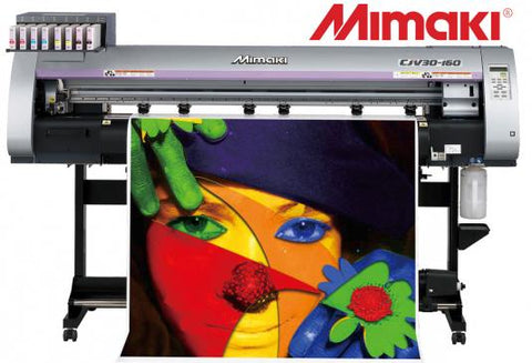 "USED MIMAKI CJV-30-160 64"" PRINT & CUT"