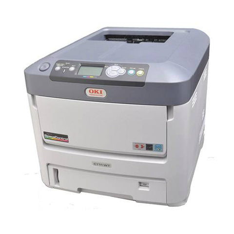OKIDATA C711WT COLOR T-SHIRT TRANSFER PRINTER