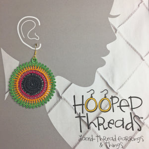 Caribbean Hoop Earrings