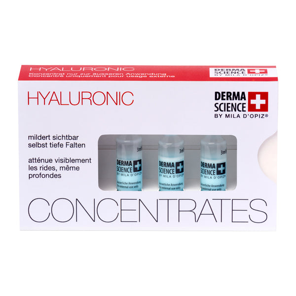 Hyaluronic Concentrates | 3x3ml - dermascience.ch