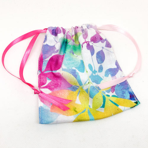 Pocket Hug Keepsake Bag - Rainbow Spring Floral
