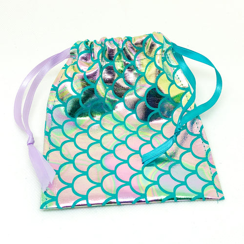Pocket Hug Keepsake Bag - Mermaid Foil