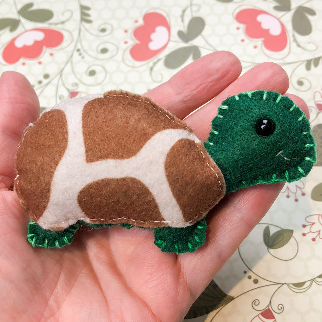 Pocket Hug - Tortoise Essential Oil Diffuser Plushie