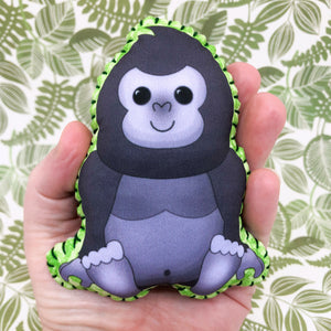 Kwan the Gorilla - Printed Pocket Hug Essential Oil Diffuser