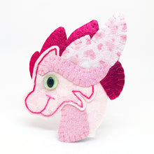 Collectable Pocket Hug - Petunia UV Light Dragon Essential Oil Diffuser Plushie