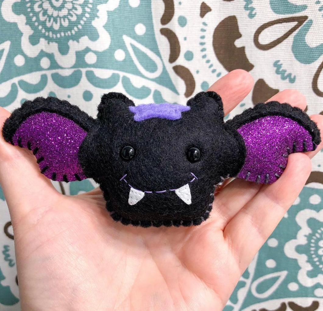 LIMITED EDITION Pocket Hug - Bat Essential Oil Diffuser Plushie