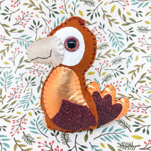 Collectable Pocket Hug - Rory Parrot - Essential Oil Diffuser Plushie