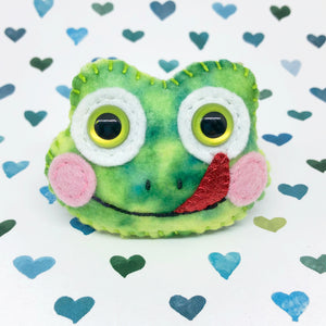 Pocket Hug - Frog Essential Oil Diffuser Plushie
