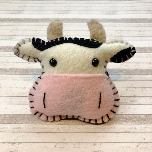 Pocket Hug - Cow Essential Oil Diffuser Plushie