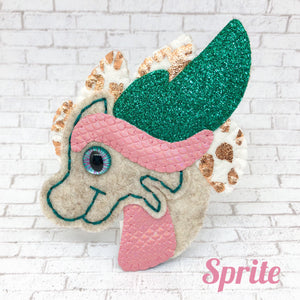 Collectable Pocket Hug - Sprite Dragon Essential Oil Diffuser Plushie