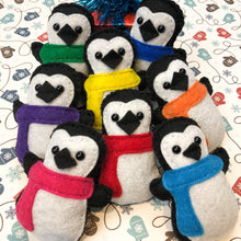 Pocket Hug - Penguin with Scarf Essential Oil Diffuser Plushie