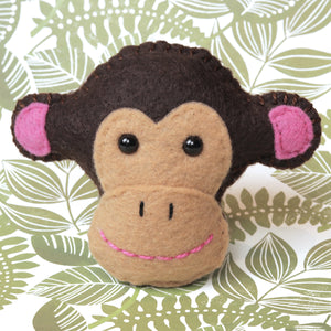Pocket Hug - Monkey Essential Oil Diffuser Plushie