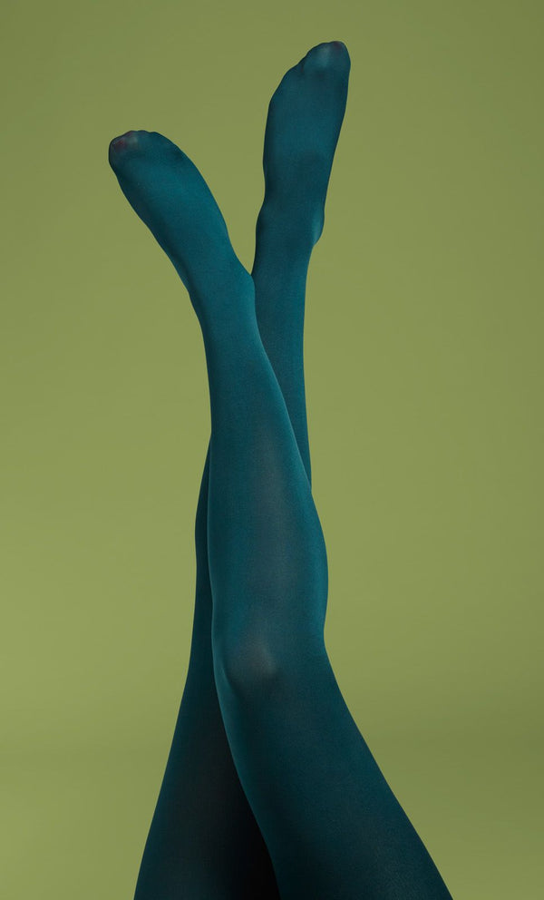 King Louie Tights Solid - Dragonfly Green-King Louie-Sophies.dk