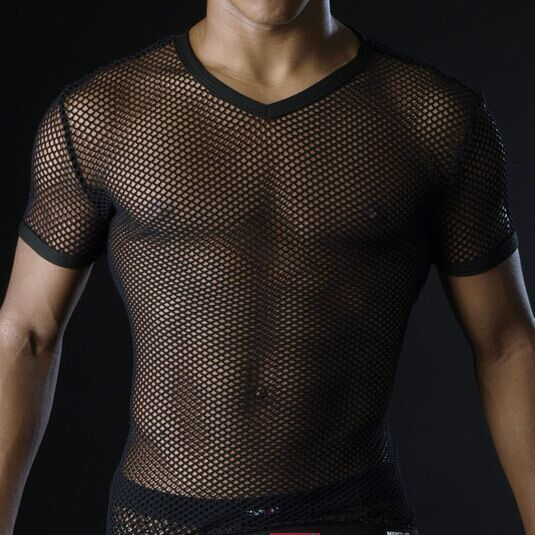 Mesh See Through T-Shirt - MyLittleRave.com