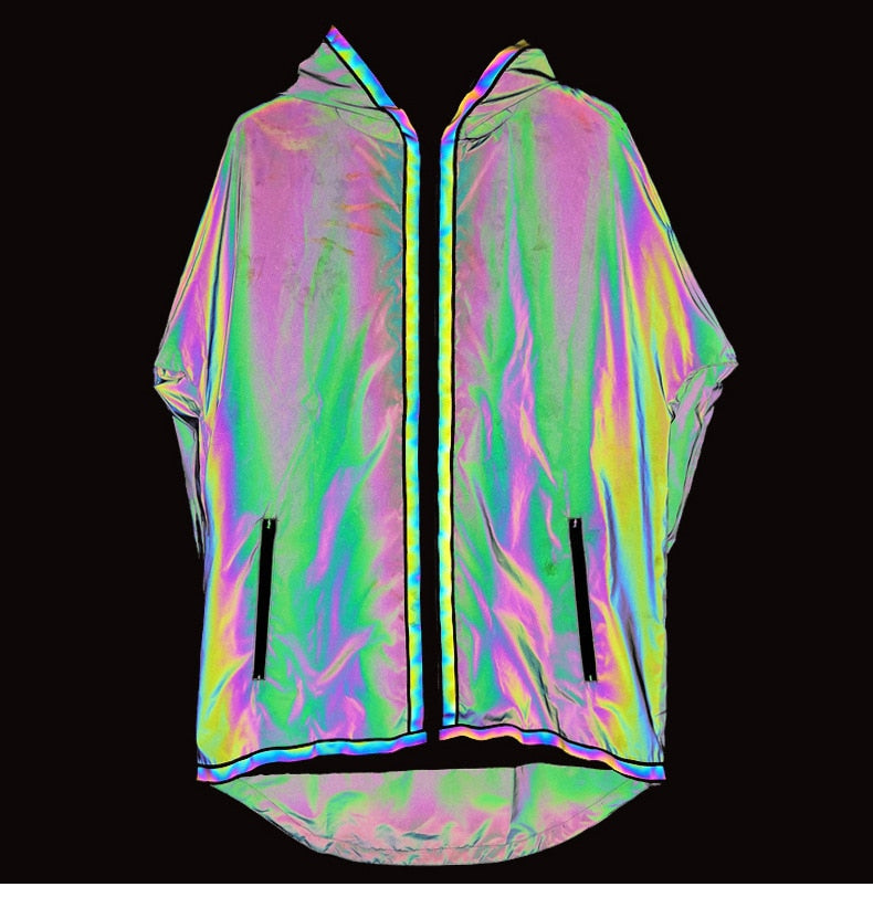 Ultra Waterproof Jacket #Reflective - MyLittleRave.com