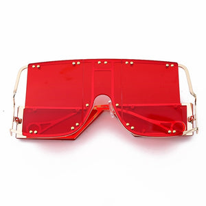 Oversized Mirror Sunglasses - MyLittleRave.com