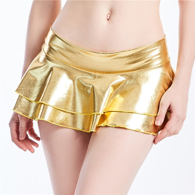 Shiny Sexy Mini Skirts (8 different colours) - MyLittleRave.com