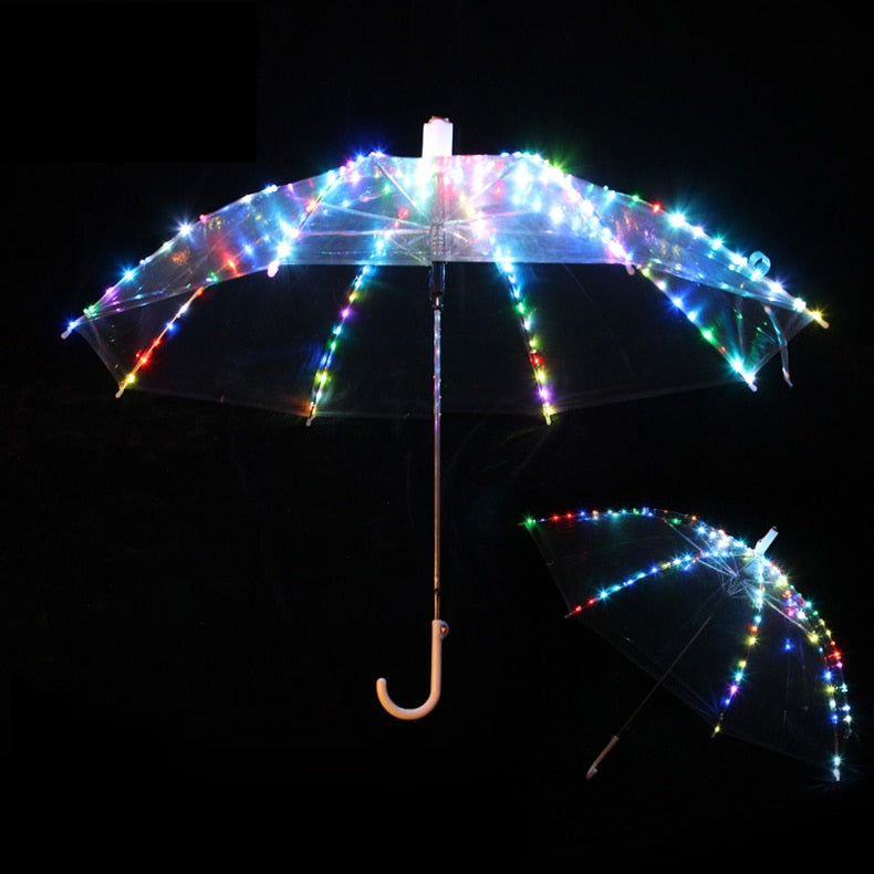 LED Light Umbrella #CreativeProps - MyLittleRave.com