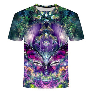 Trippy T-Shirts (multiple variants) - MyLittleRave.com