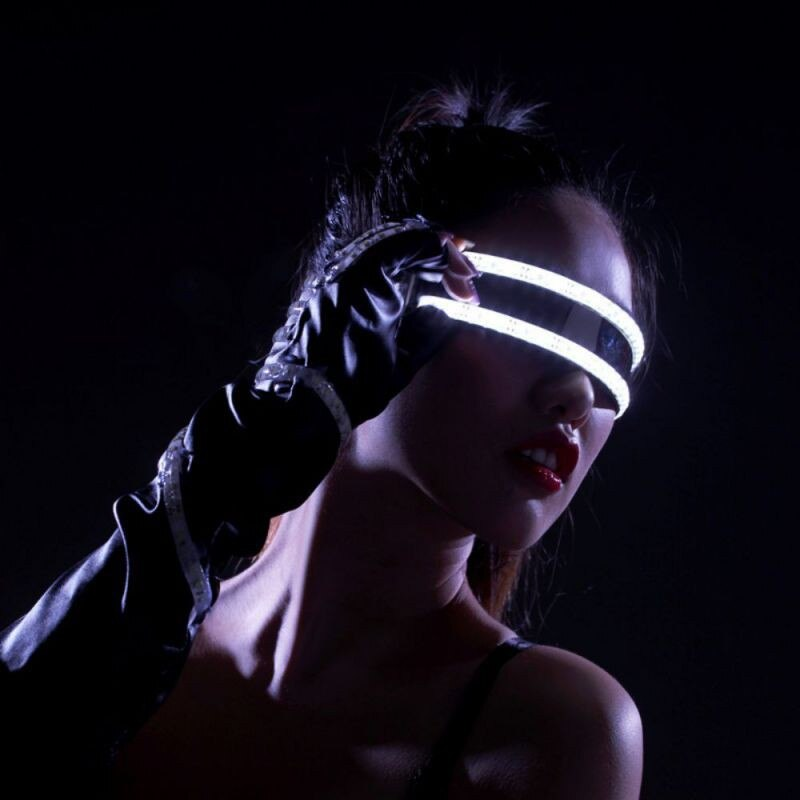 LED Laser Glasses - MyLittleRave.com