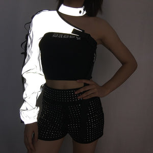 Neon&Reflective Top