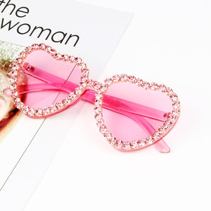 Heart Candy Pink Sunglasses - MyLittleRave.com
