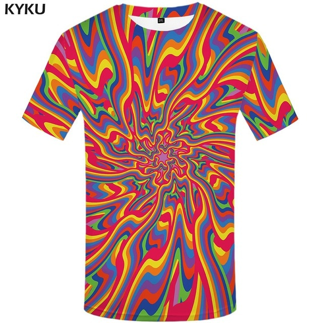 Trippy T shirts (MULTIPLE PRINTS) - MyLittleRave.com