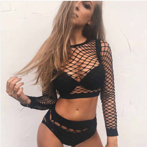Sexy See Through 2 Piece Set - MyLittleRave.com