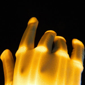 1pcs LED Flashing Gloves #CreativeProps - MyLittleRave.com