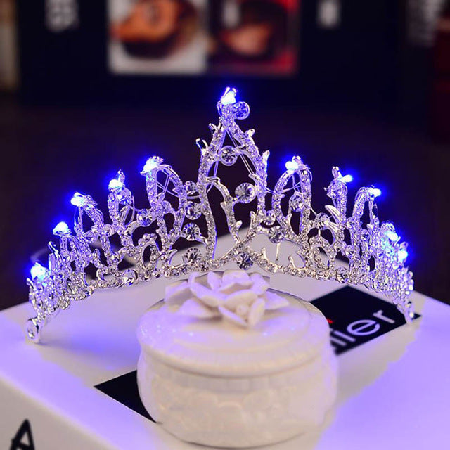 LED Crowns #CreativeProps - MyLittleRave.com