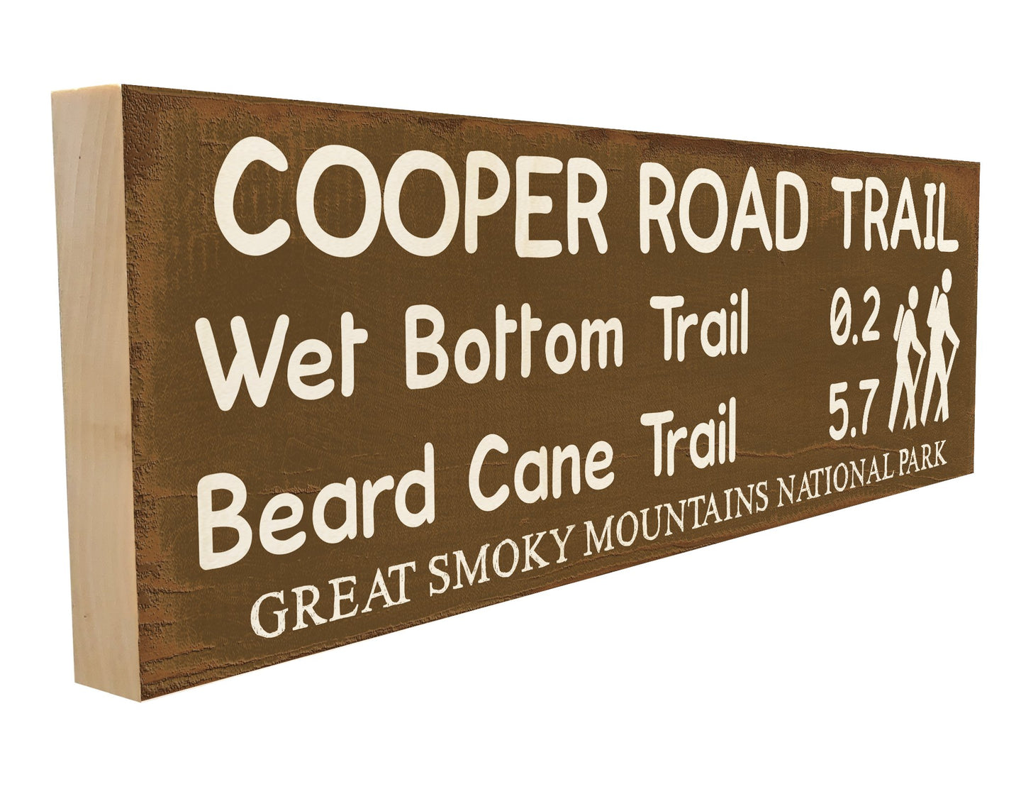 Cooper Road Trail. Wet Bottom Trail 0.2 Beard Cane Trail 5.7 Great Smoky Mountain National Park.
