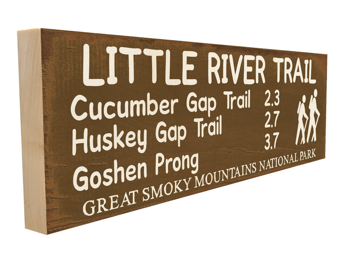 Little River Trail. Cucumber Gap Trail 2.3 Huskey Gap Trail 2.7 Goshen Prong 3.7 Great Smoky Mountains National Park.