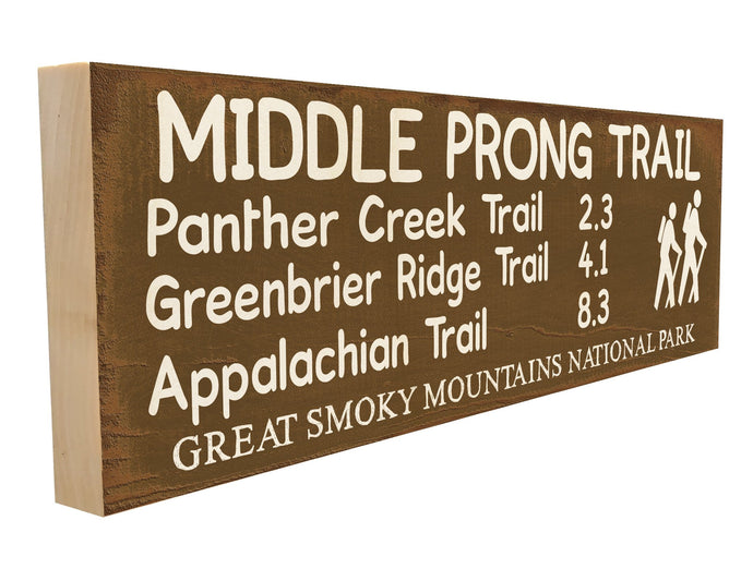 Middle Prong Trail. Panther Creek Trail 2.3 Greenbrier Ridge Trail 4.1 Appalachian Trail 8.3 Great Smoky Mountains National Park.