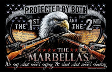 Protected by Both. The 1st and the 2nd. We Say What Needs Saying and Shoot What Needs Shooting + Name.