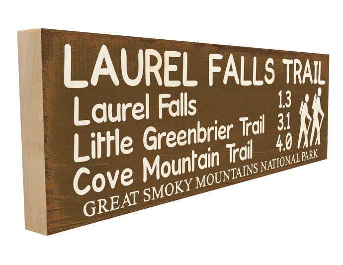 Laurel Falls Trail. Laurel Falls 1.3 Little Greenbrier Trail 3.1 Cove Mountain Trail 4.0 Great Smoky Mountains Nationa Park.