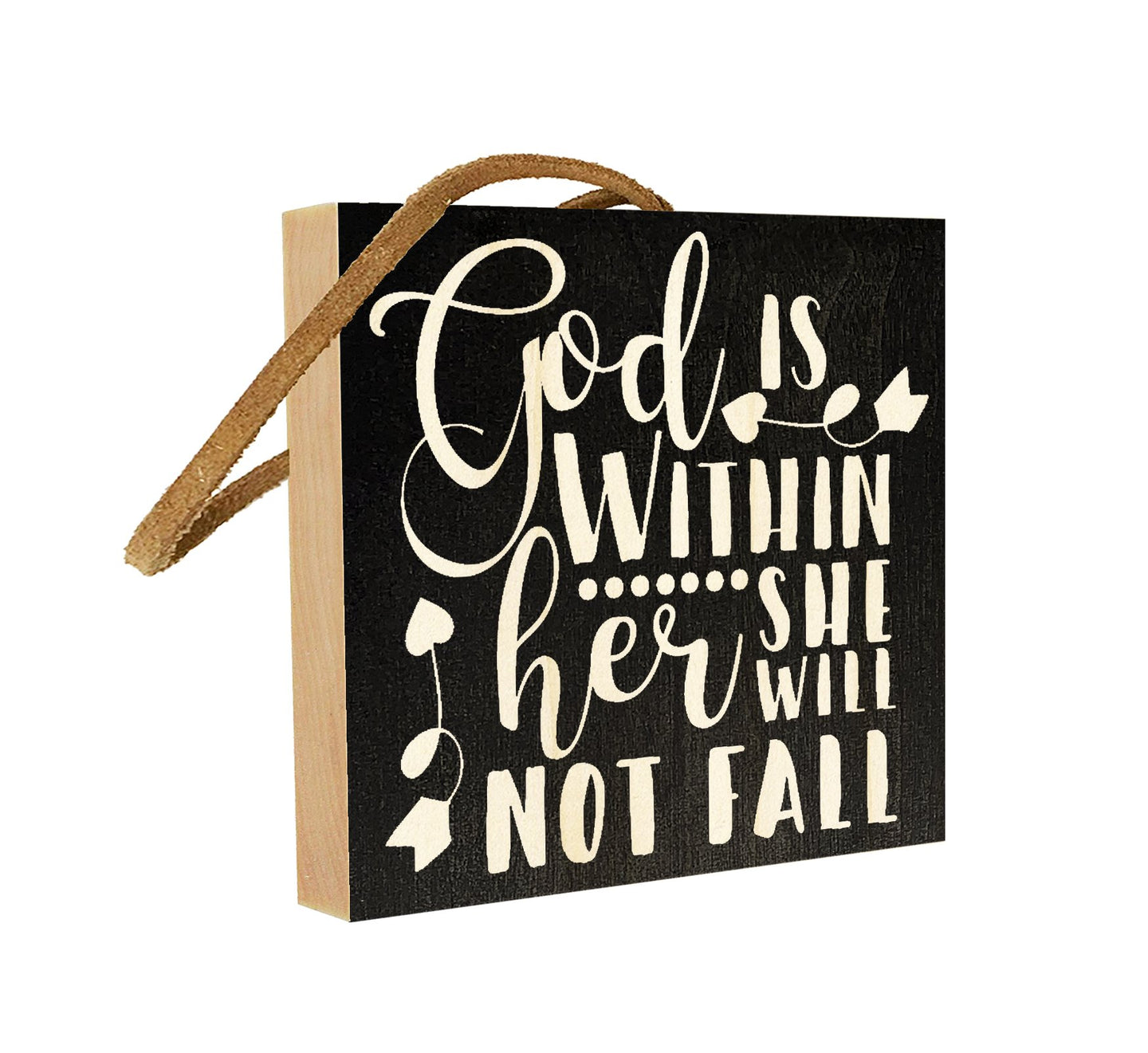God is Within Her. She Will Not Fail.
