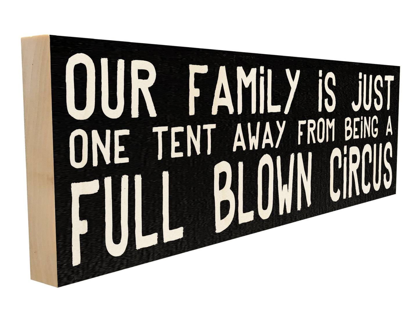 Our Family is just One Tent Away from being a Full Blown Circus.