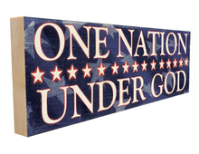 One Nation Under God.