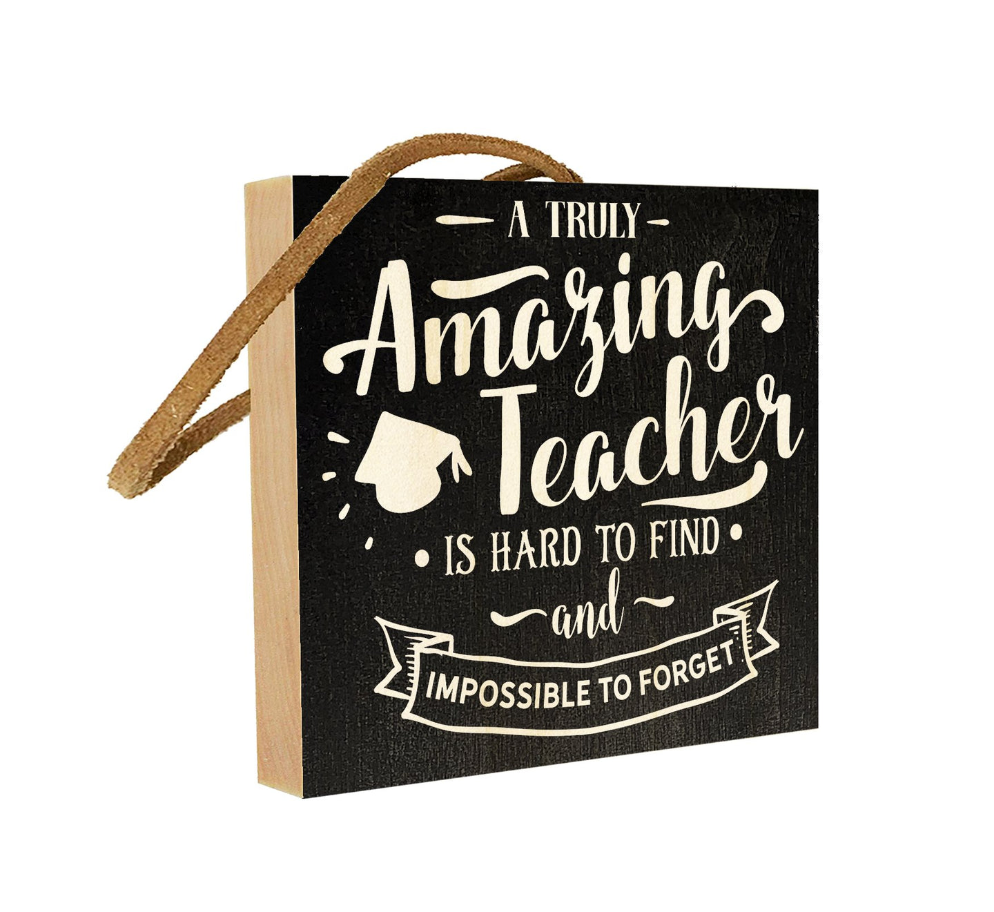 A Truly Amazing Teacher is Hard to Find and Impossible to Forget.