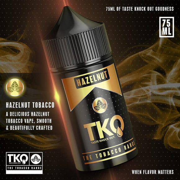 TKO Hazelnut Tobacco 75ML