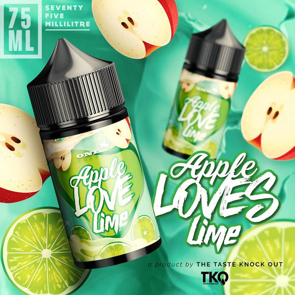 TKO Apple Loves Lime 100ML