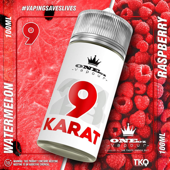 TKO One Oz 9 Karat Daimond 100 ML