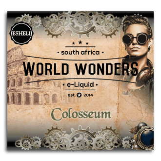 ESHELI WORLD WONDERS COLOSSEUM 60 ML MTL 12 MG