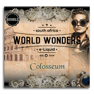 ESHELI WORLD WONDERS COLOSSEUM 120 ML MTL